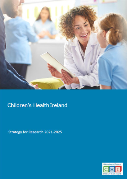 Children's Health Ireland Strategy for Research 2021-2025 COVER